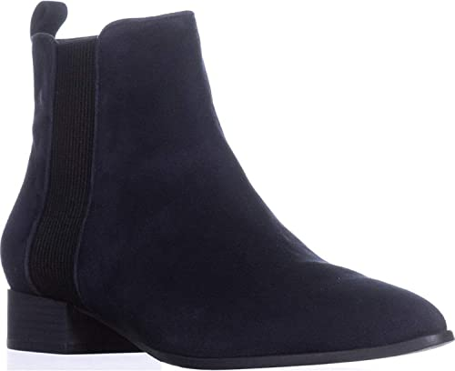 DKNY mujer Talie Leather Closed Toe Ankle Chelsea botas