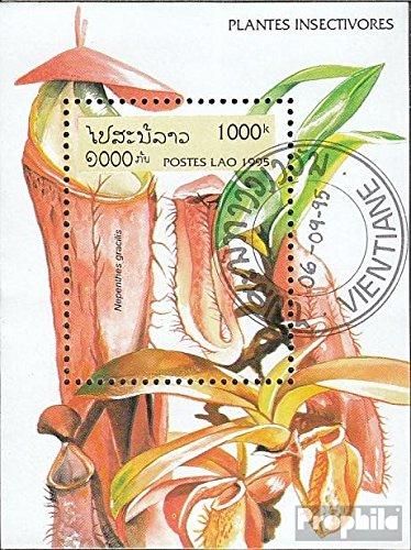 Laos Mi.-Aantal.: Block 155 (compleet.Kwestie.) 1995 Fleischfressende Planten (Postzegels voor verzamelaars) plant