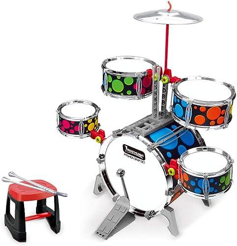 LINGLING-Trommel Anf er Schlagen Musikinstrumente Musikspielzeug Jungen Frühunterricht mädchen Trommeln (Farbe   Bunte)