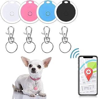 $22 » 4Pcs Mini Pet GPS Tracking Device Smart GPS Tracker,Anti-Lost Waterproof Wireless Bluetooth Locator Key Finder Lost Alarm ...