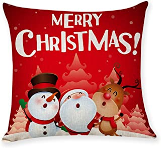 Shan-S Christmas Throw Pillow Covers -18