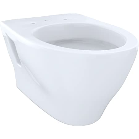 Toto CT418FG#01 Aquia Cotton Elongated Wall-Hung Toilet Bowl Only with Dual Max Flush System
