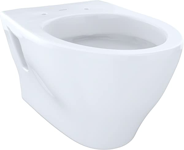 Toto CT418FGNo 01 Aquia Wall Hung Dual Flush Toilet 1 6 GPF And 0 9 GPF Cotton CT418FG 01
