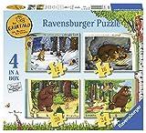 Ravensburger The Gruffalo-Caja de 4 Pulgadas (12, 16, 20, 24 Piezas) Rompecabezas para niños de 3 años y más (6916)