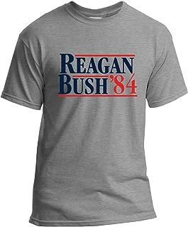 Reagan Bush 84 T-Shirt Republican Presidential Election Campaign GOP T-Shirt