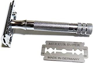 ゾーリンゲン メルクール MERKUR(独)髭剃り(ひげそり)両刃ホルダー#33 (替刃1枚付)