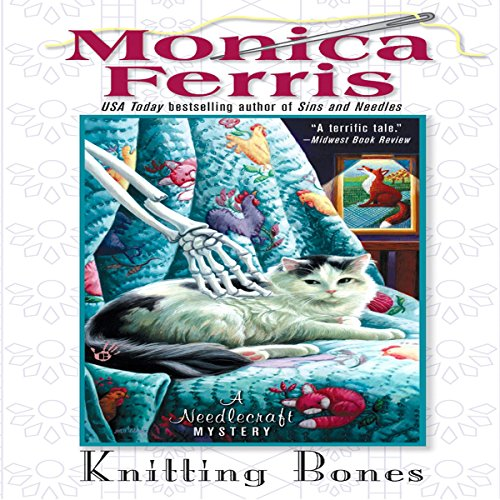 Knitting Bones audiobook cover art