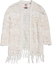 Superdry Willow Crochet Kimono Poncho Mujer Cream