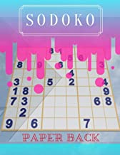 Sodoko Paper Back: 365 Brain Puzzler 2019 difficult riddle book adults, 5 min brain workout with soduko expert this book.