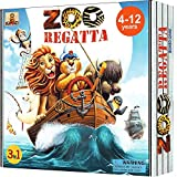 ZOORegatta Family Board Games for Kids Ages 4-12 Years. Award Winning Fun Animal Board Game for 2-4...