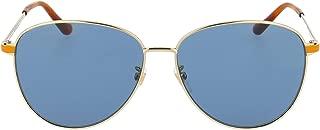 Luxury Fashion | Gucci Womens GG0573SK004 Gold Sunglasses | Fall Winter 19