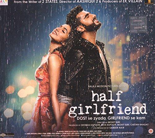 HALF GIRLFRIEND - Bollywood Soundtrack CD zum Film mit Shraddha & Arjun Kapoor