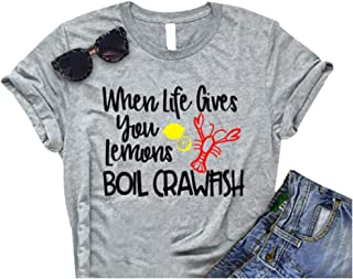Best womens crawfish shirt Reviews