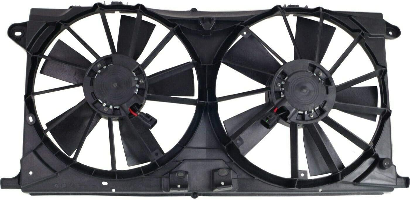 Limited time Max 42% OFF trial price JUN Radiator Cooling Fan Compatible 2015-2017 with Ford F-150