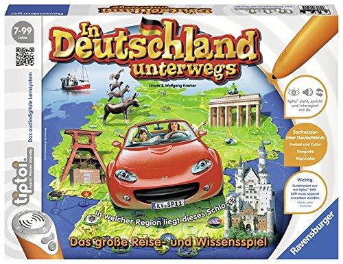 Preisvergleich Produktbild tiptoi® In Deutschland unterwegs: Die interaktive Audio-Tour durch Deutschland für 1-6 Spieler ab 7 Jahren