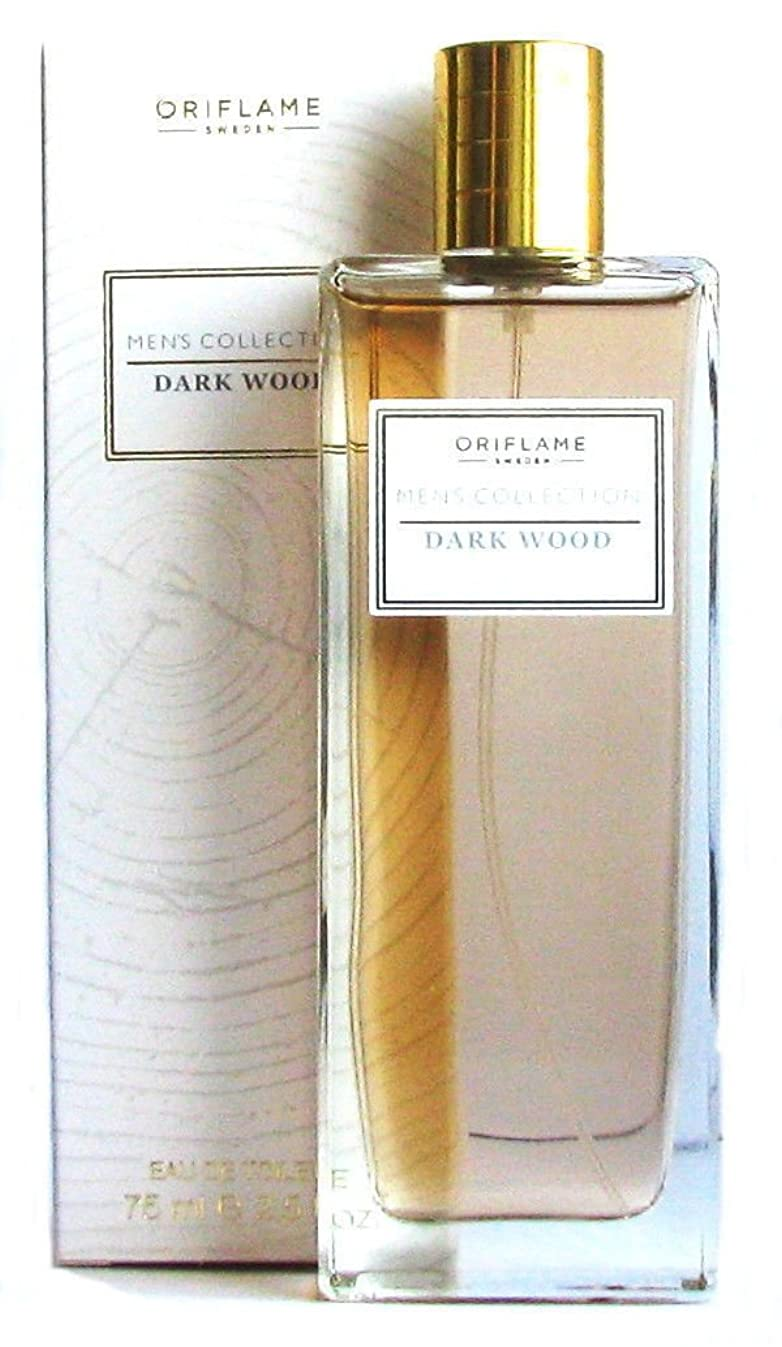 忠実西量でORIFLAME Men's Collection Dark Wood Eau de Toilette Natural Spray For Him 75ml - 2.5oz
