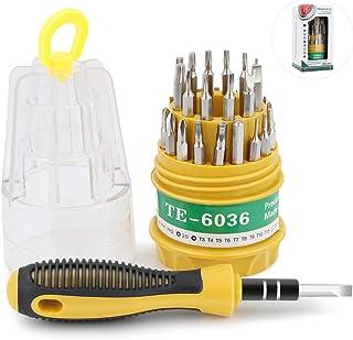 driver magnetico con albero flessibile per Phone tablet PC Hootracker Set di cacciaviti di precisione 73 in 1 S2 punte lunghe kit di riparazione elettronica