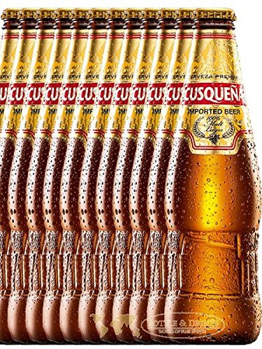 CUSQUENA Cerveza Malta Peruanisches Bier 12 x 0,33 Liter