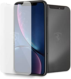 CG Mobile Ferrari iPhone Xr Off Track Tempered Glass Screen Protector with Invisible Ferrari Logo
