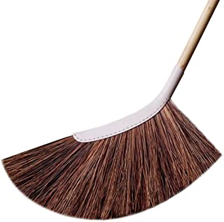 SWEEPY Outdoor Garden Broom - Long Handle Broomstick for Home Garden, House, Garage, Office, Parking Area