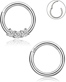 Best diamond septum jewelry Reviews