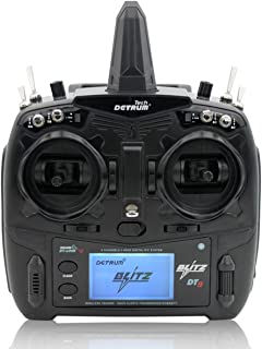 DYNAM DETRUM Blitz-DT9 9CH Smart Transmitter Set, Telemetry/Programming (Black, M2, TX+RXC9M)