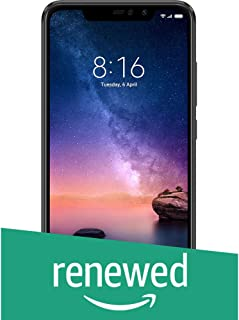 (Renewed) Redmi Note 6 Pro 64GB (Black, 6GB RAM)