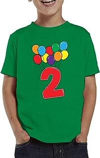 2 Year Old Birthday Balloons Toddler T-Shirt