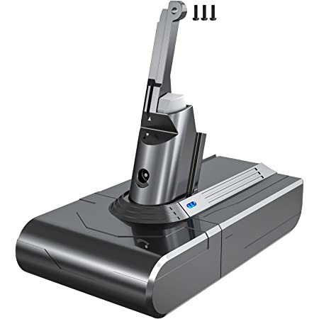 Upgraded to 5.0Ah Replacement V8 Battery with 2 Filters Compatible with V8 Animal V8 Absolute V8 Fluffy V8 Motorhead V8 Carbon Fiber Cord-Free Handheld Vacuum Cleaners