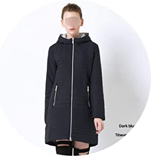 Be fearless 2019 Spring Long Women's Coats with Hood Fashion Women Padded Brand Spring Jacket Parka