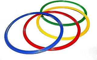 Boje Sport c/ône 16 Trous Se Combine Bien avec des Jalons en Plastique ou des cerceaux de Gymnastique Plats 50 cm Couleur: Vert 1x MZK50g