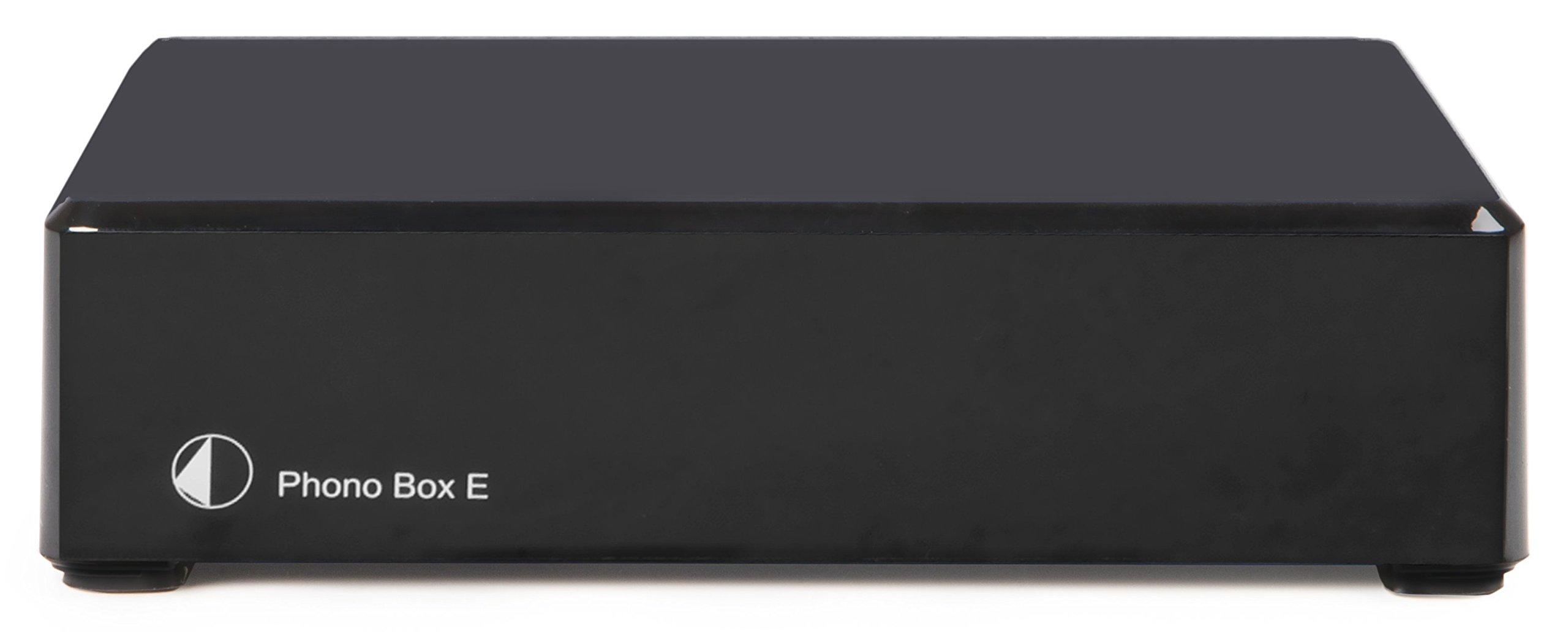 Pro-Ject Phono Box E Phonograph Preamplifier Black