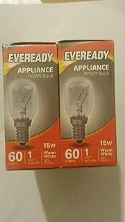 2x LAMPADINE LAMPADA SALE DELL/'HIMALAYA E14 15W LUCE Pigmeo Elettrodomestico Lampadina SES Piccolo Vite