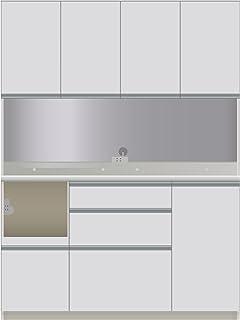 パモウナ 食器棚 幅140×高さ187×奥行45 日本製 DIL-S1400R