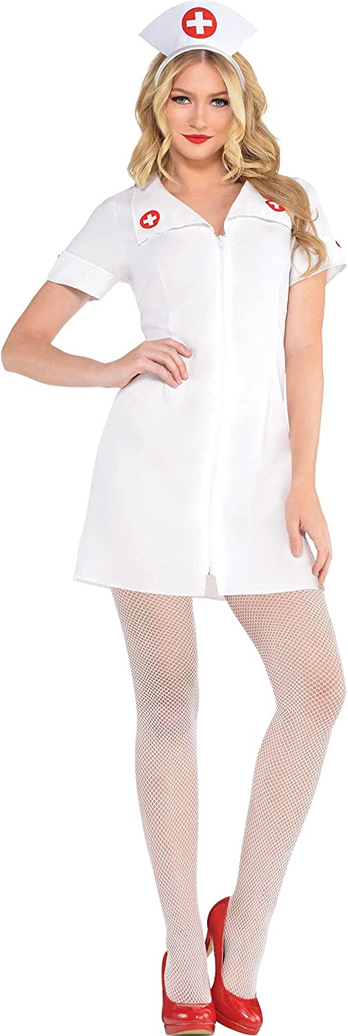 amscan Hospital Honey Nurse Halloween Great interest Super special price Include for Costume Women