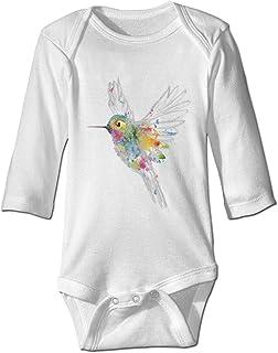 LyCheer Baby-Body mit Kolibri-Motiv, Graffiti, personalisierbar