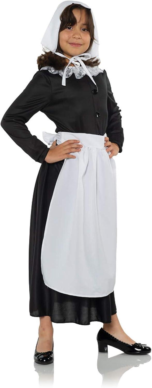 Childs Prairie Trust Girl Colonial Costume Accessory Apron Elegant Kit