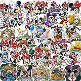 LZWNB Disney Mickey Mouse Pegatina Mickey sin duplicar niños...