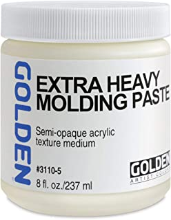 Golden Artist Colors - Light Molding Paste - 128 oz Jar