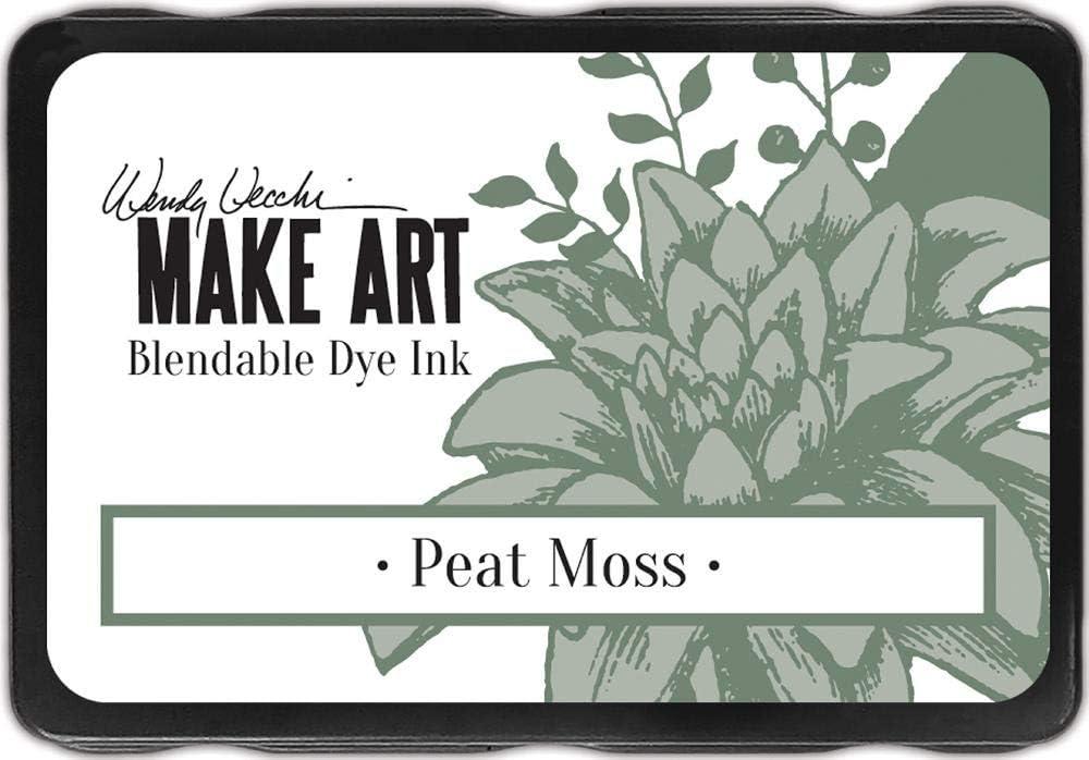 Ranger Wendy Vecchi Make Art Dye Max 41% OFF Pads-Peat cheap Ink Moss