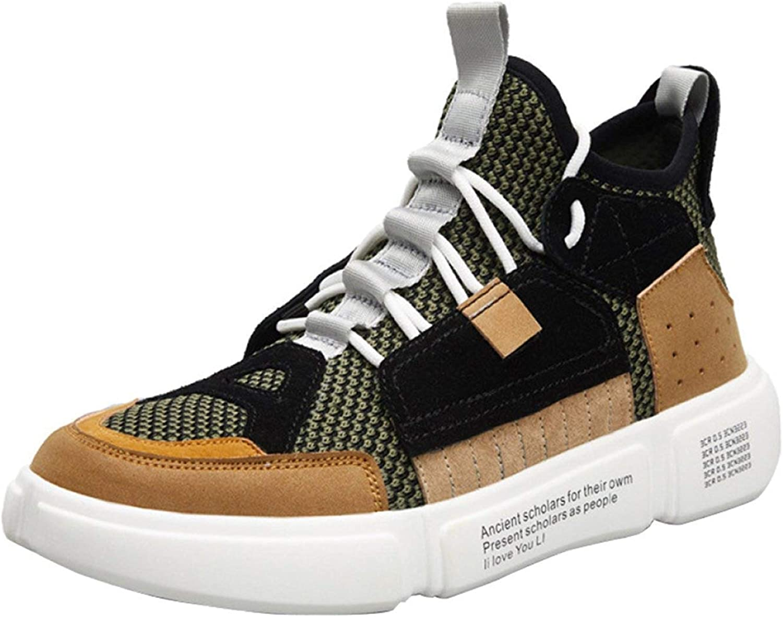 d04722e3c24 Hhgold Men's Mesh Fashion Sneakers Sewing Random shoes shoes (color ...