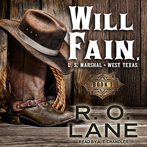 Will Fain, US Marshal audiobook cover art