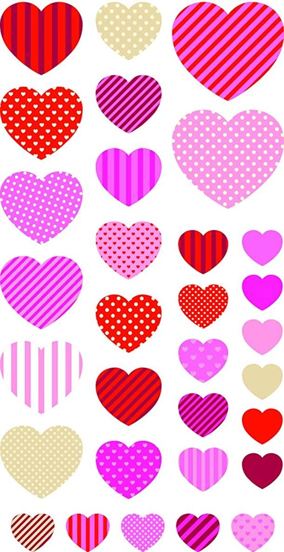 Artemio 7.5?x 0.3?x Multicoloured French Love Set of 20?Paper Clips, 18?cm