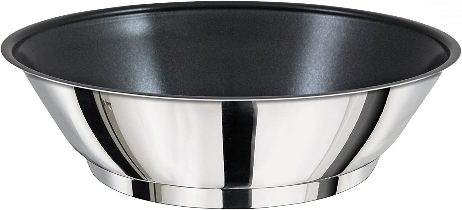 Magma Products, A10-369-2 Gourmet Nesting Stainless Steel Saute Omelette Pan with Ceramica Non-Stick