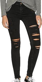 9be1b782b06d Suchergebnis auf Amazon.de für: löcher jeans damen: Bekleidung