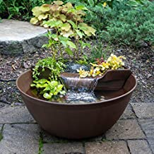 Amazon Com Small Garden Pond With Waterfall