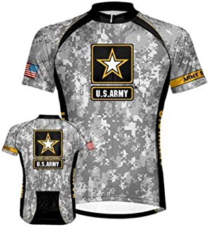 US Army - Camo Cycling Jersey - X-Large