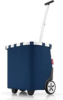 reisenthel Carrycruiser, Shopping Trolley, Shopping Cart, Dark Blue, 40 L, Premium-quality Polyester, OE4059