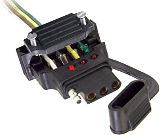 Hopkins 48190 Endurance Quick Fix Vehicle Side 4-Flat Connector