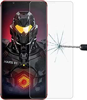 Good 0.26mm 9H 2.5D Explosion-proof Tempered Glass Film for ZTE Nubia Red Magic MARS Dualn